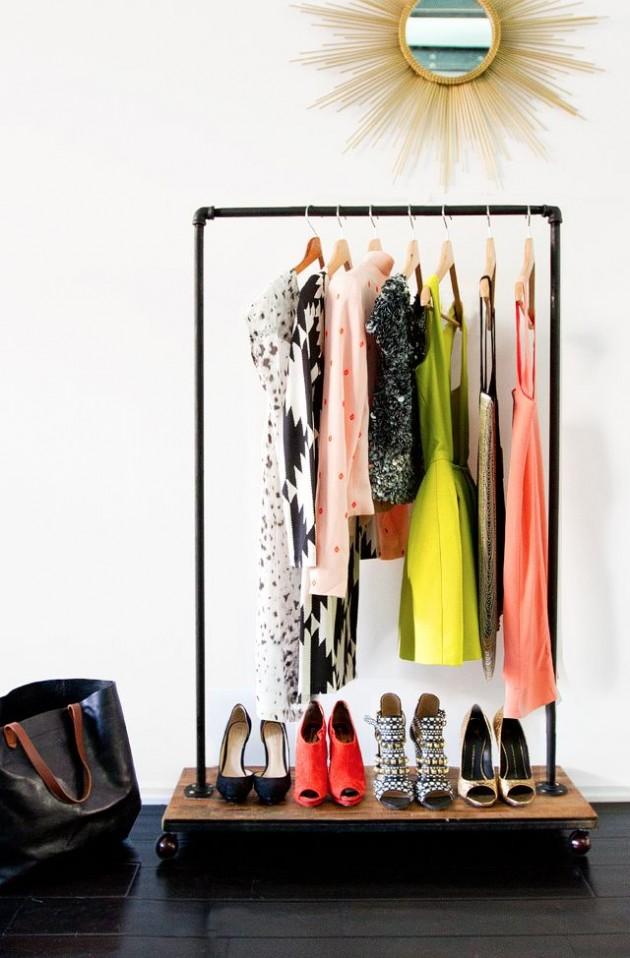 DIY ιδέες αποθήκευσης ρούχων9
