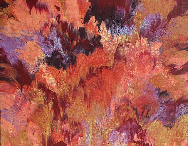 Diy Καταπληκτική σύγχρονη τέχνη από περίσσευματα χρωμάτων1