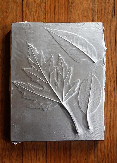 Όμορφη DIY διακόσμηση με φύλλα2