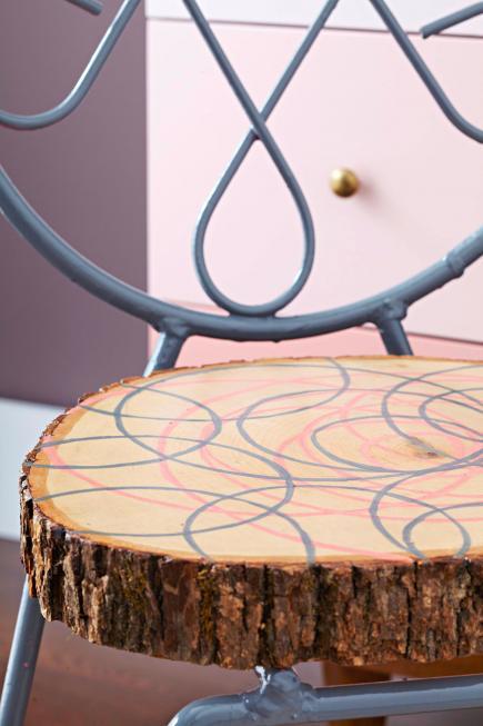 Διακόσμηση με φυσικό ξύλο9