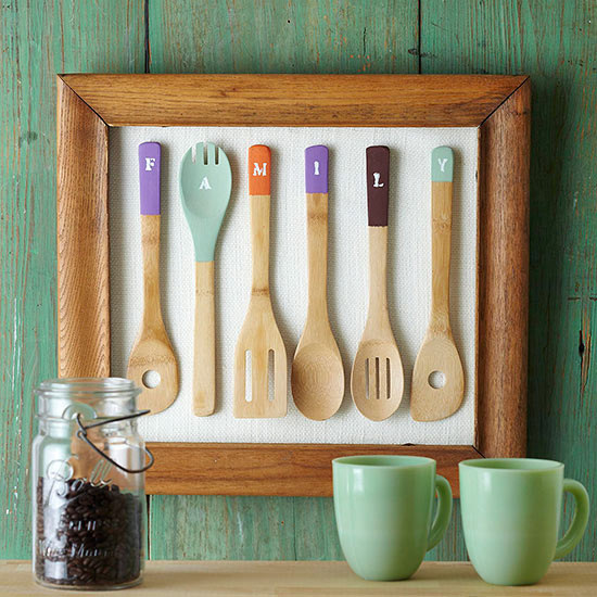 DIY Ξύλινές διακοσμητικές Χειροτεχνίες με Κουτάλια2
