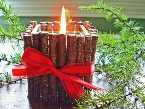Υπέροχες Αρωματικές Ιδέες Χριστουγεννιάτικής Διακόσμησης με ραβδάκια κανέλας