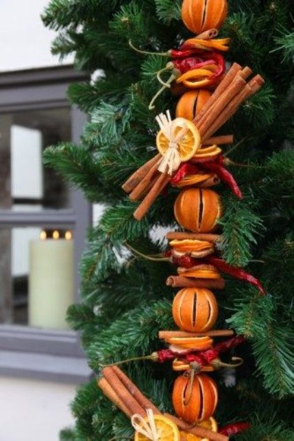 Υπέροχες Αρωματικές Ιδέες Χριστουγεννιάτικής Διακόσμησης με ραβδάκια κανέλας12