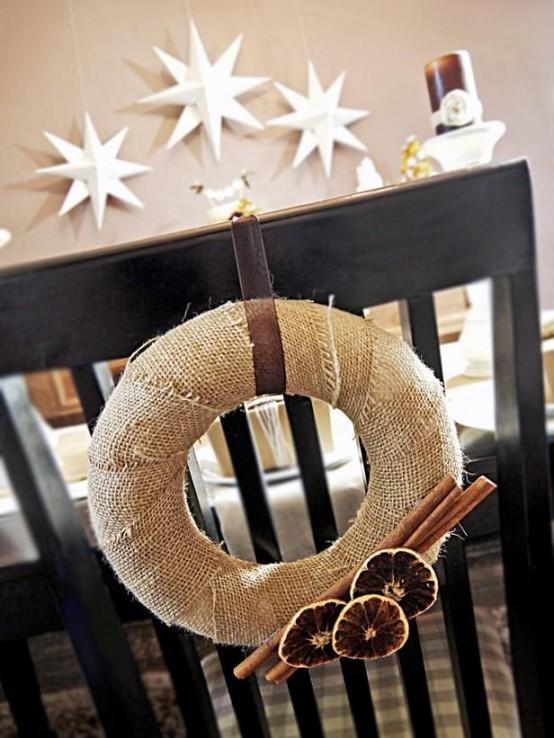 Υπέροχες Αρωματικές Ιδέες Χριστουγεννιάτικής Διακόσμησης με ραβδάκια κανέλας30