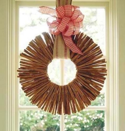 Υπέροχες Αρωματικές Ιδέες Χριστουγεννιάτικής Διακόσμησης με ραβδάκια κανέλας34
