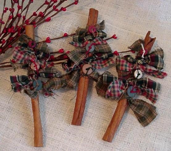 Υπέροχες Αρωματικές Ιδέες Χριστουγεννιάτικής Διακόσμησης με ραβδάκια κανέλας4