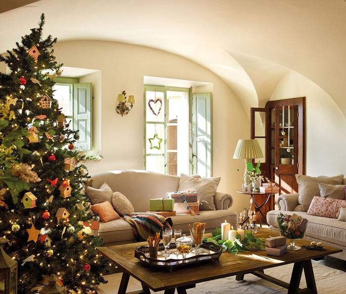 Χριστουγεννιάτικη ατμόσφαιρα σε ένα  παραμυθένιο σπίτι5