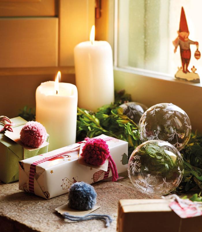 Χριστουγεννιάτικη ατμόσφαιρα σε ένα  παραμυθένιο σπίτι6
