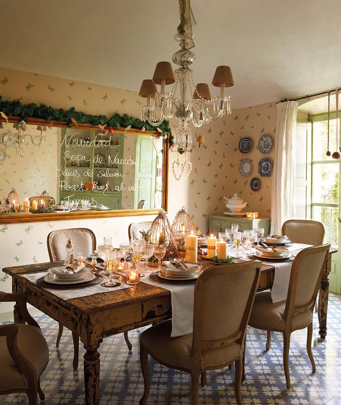 Χριστουγεννιάτικη ατμόσφαιρα σε ένα  παραμυθένιο σπίτι9
