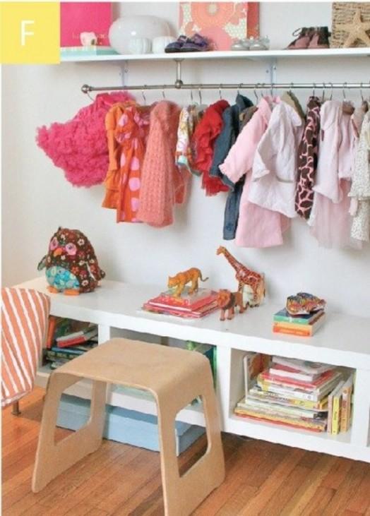 Ιδέες αποθήκευσης για παιδικά Δωμάτια17