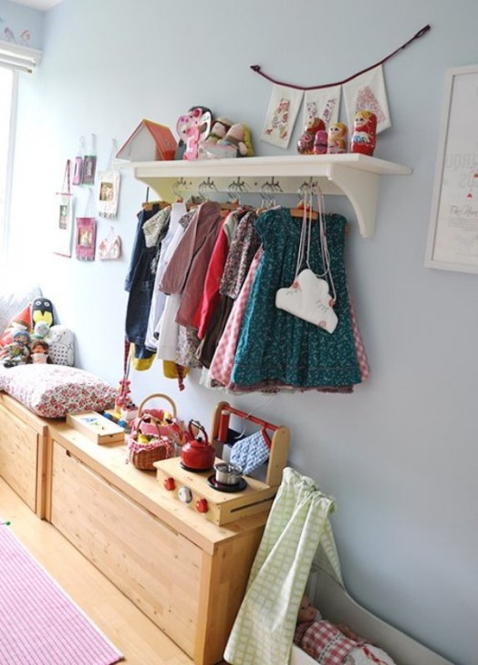 Ιδέες αποθήκευσης για παιδικά Δωμάτια18