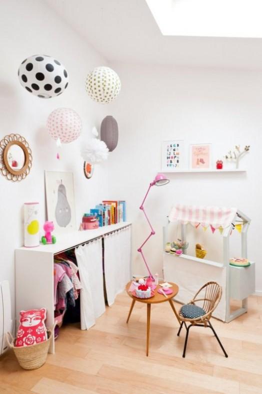 Ιδέες αποθήκευσης για παιδικά Δωμάτια3