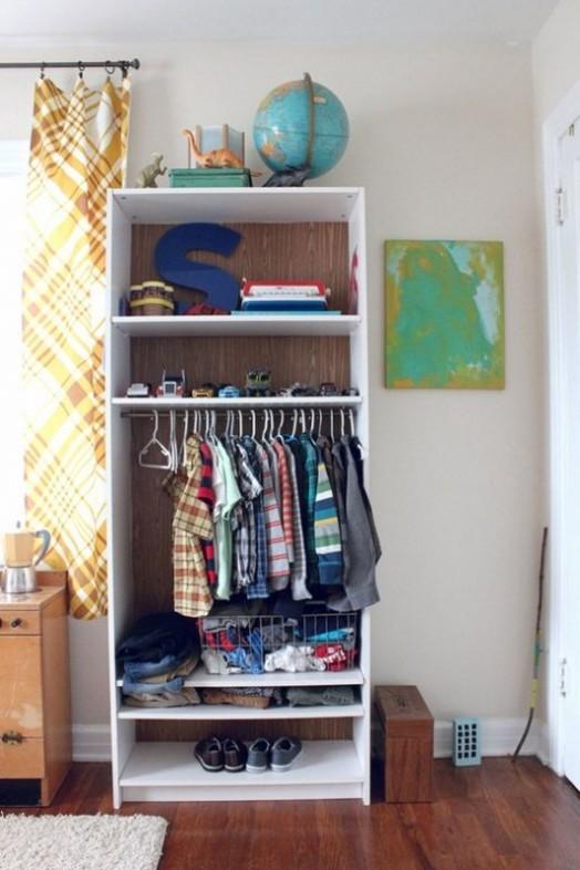 Ιδέες αποθήκευσης για παιδικά Δωμάτια8