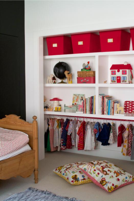 Ιδέες αποθήκευσης για παιδικά Δωμάτια9