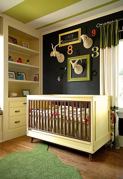 Ιδέες με Χρώμα μαυροπίνακα για παιδικό δωμάτιο2