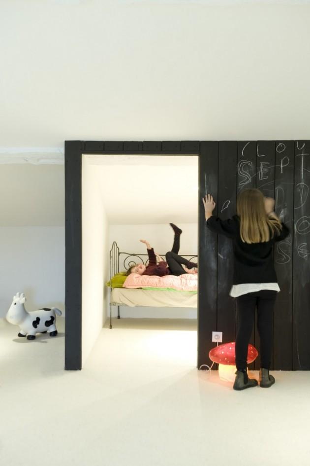 Ιδέες με Χρώμα μαυροπίνακα για παιδικό δωμάτιο5