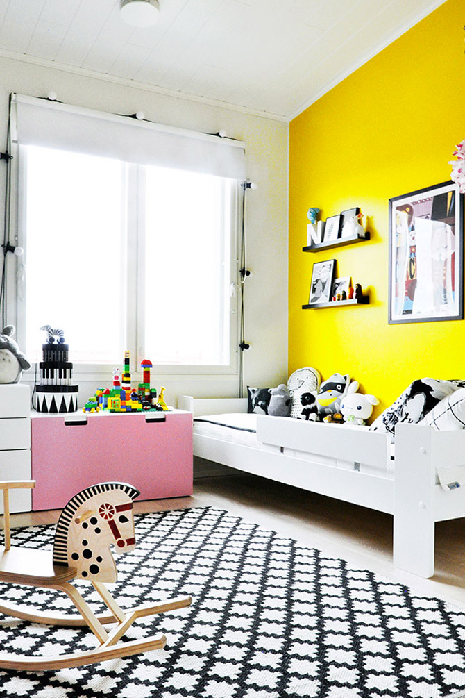 Φωτεινό και χαριτωμένο παιδικό δωμάτιο1