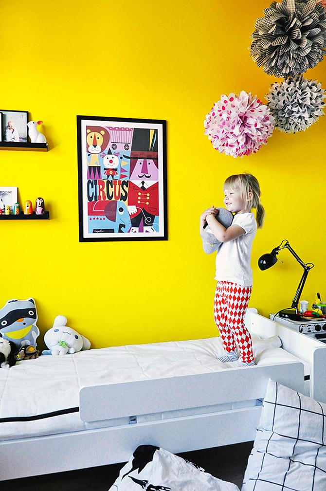 Φωτεινό και χαριτωμένο παιδικό δωμάτιο2
