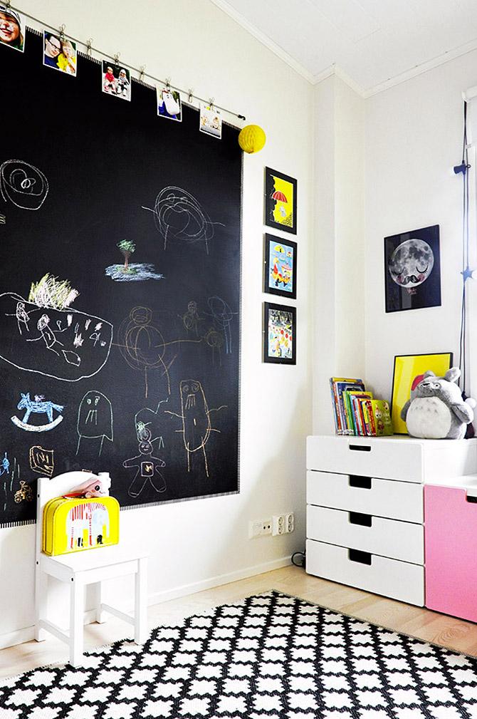Φωτεινό και χαριτωμένο παιδικό δωμάτιο5