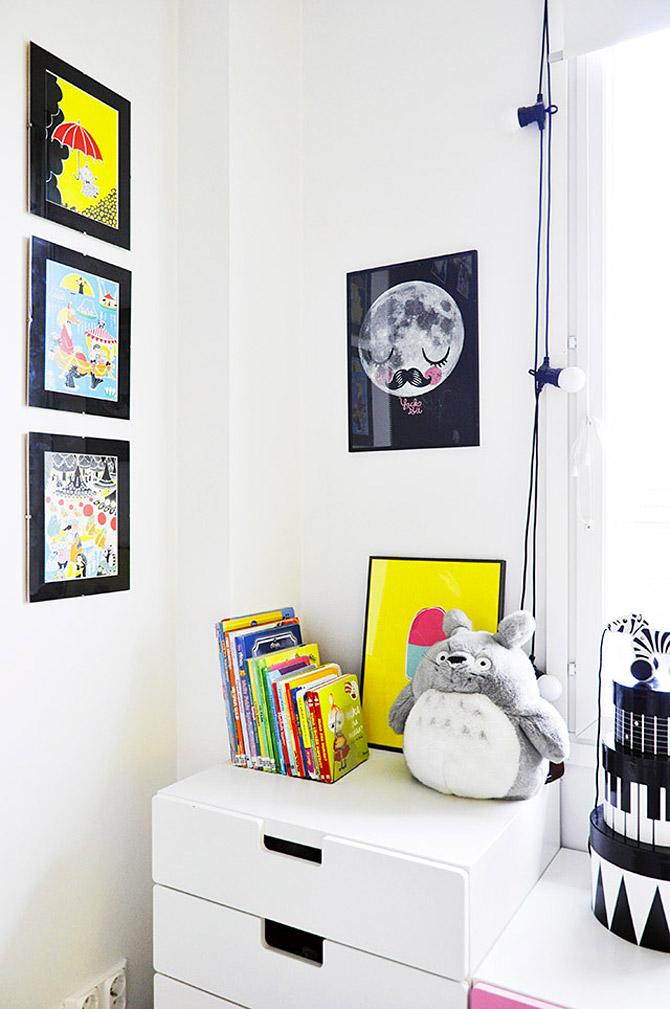 Φωτεινό και χαριτωμένο παιδικό δωμάτιο7