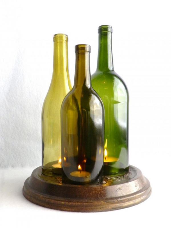 ιδέες για να ανακυκλώσετε μπουκάλια κρασιού17