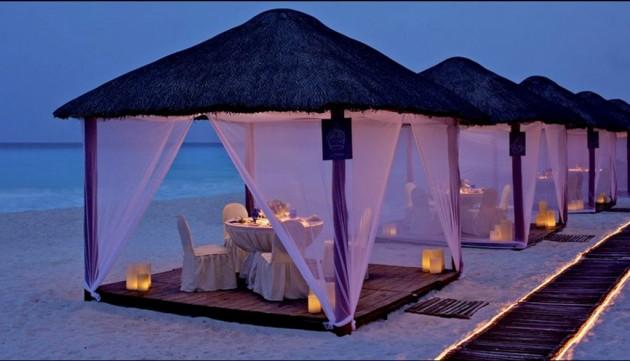 ιδέες για ρομαντικό Τραπέζι σε εξωτερικό χώρο13
