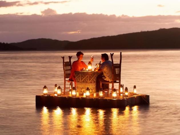 ιδέες για ρομαντικό Τραπέζι σε εξωτερικό χώρο15