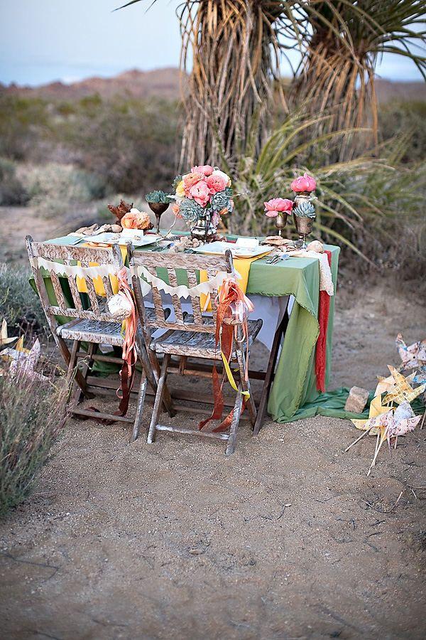 ιδέες για ρομαντικό Τραπέζι σε εξωτερικό χώρο4