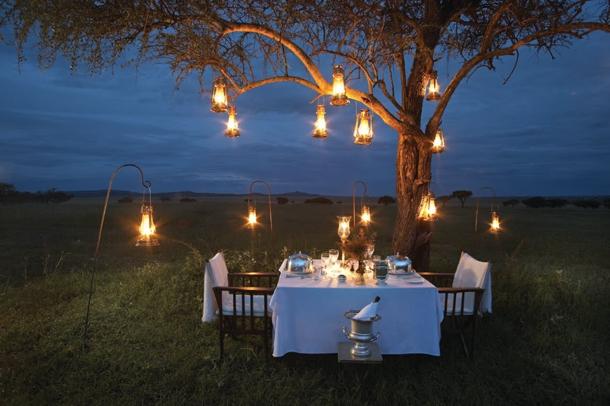 ιδέες για ρομαντικό Τραπέζι σε εξωτερικό χώρο5