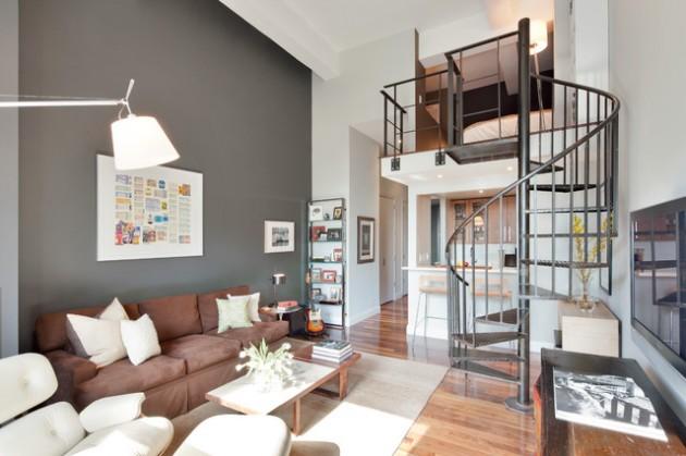 ιδέες  σχεδιασμού για να τονίσετε ένα τοίχο στο σαλόνι σας1