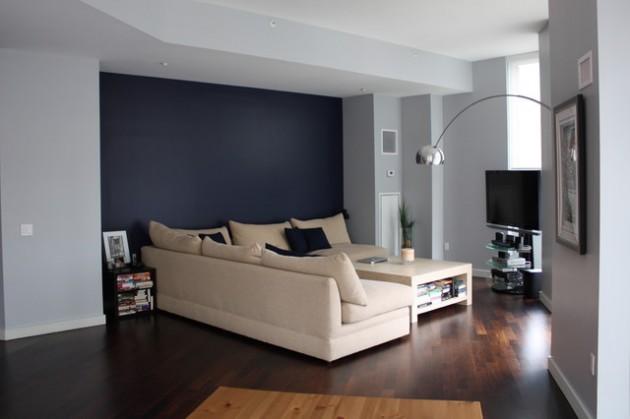 ιδέες  σχεδιασμού για να τονίσετε ένα τοίχο στο σαλόνι σας11