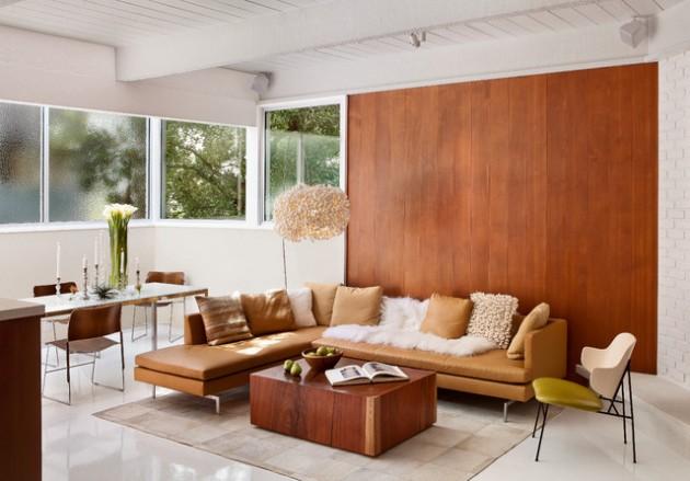 ιδέες  σχεδιασμού για να τονίσετε ένα τοίχο στο σαλόνι σας13