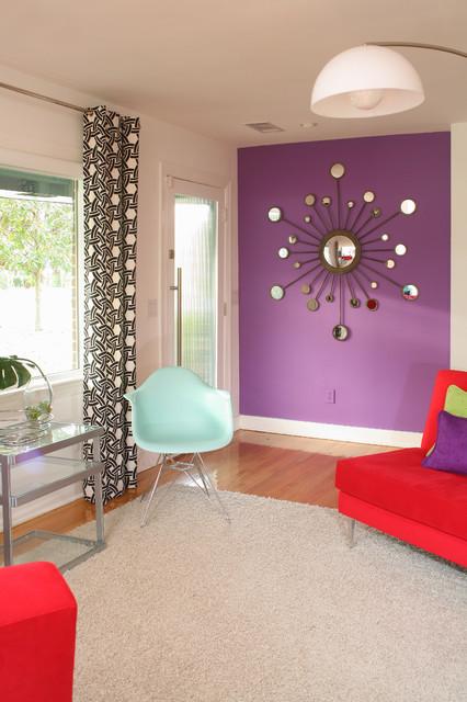 ιδέες  σχεδιασμού για να τονίσετε ένα τοίχο στο σαλόνι σας14