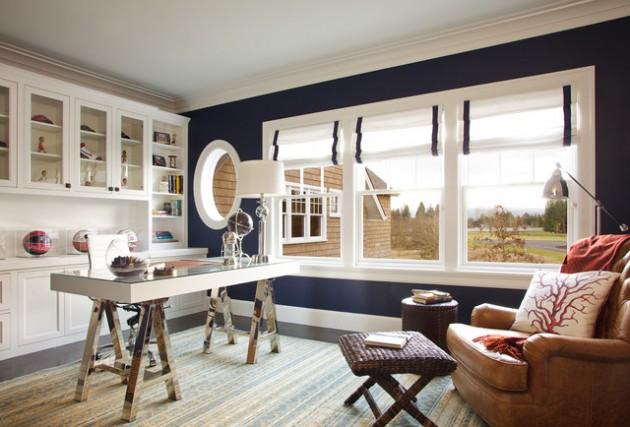ιδέες  σχεδιασμού για να τονίσετε ένα τοίχο στο σαλόνι σας18