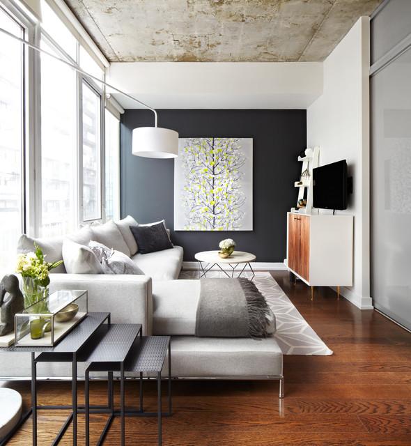 ιδέες  σχεδιασμού για να τονίσετε ένα τοίχο στο σαλόνι σας21
