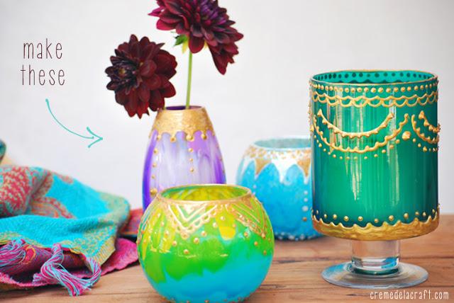 DIY Μαροκινά Κηροπήγια1