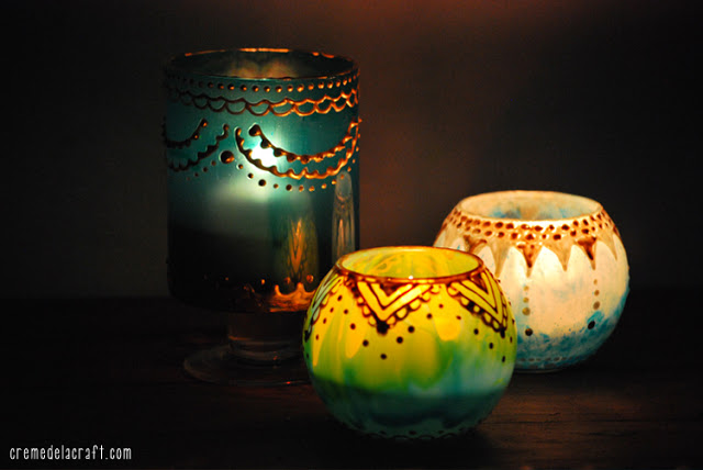DIY Μαροκινά Κηροπήγια3