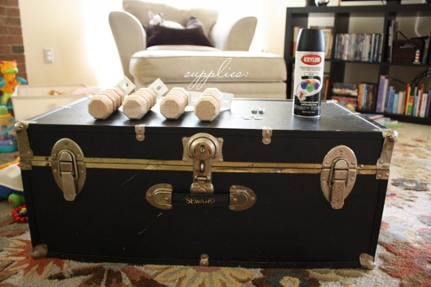 Vintage DIY Ιδέες για τραπεζάκια καφέ14