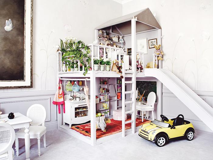 Παραμυθένιο παιδικό δωμάτιο