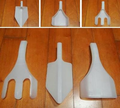 εργαλεία για τον κήπο σας από πλαστικά μπουκάλια3