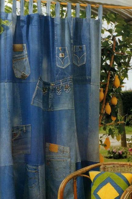 ιδέες ανακύκλωσης τζιν και ετικέτων σε Μοναδικές επιπλώσεις και αξεσουάρ σπιτιού2