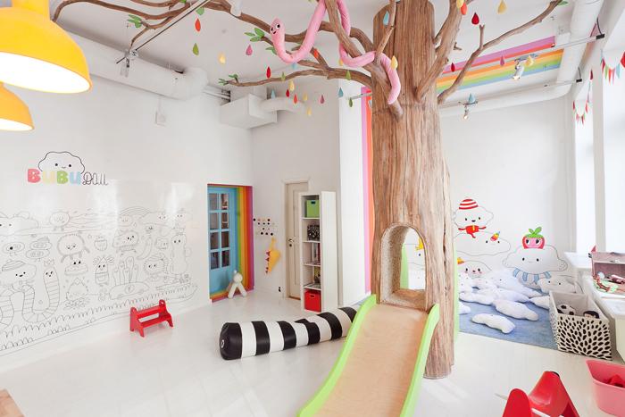 Απίθανο Εικονογραφημένο Πολύχρωμό και διασκεδαστικό playroom