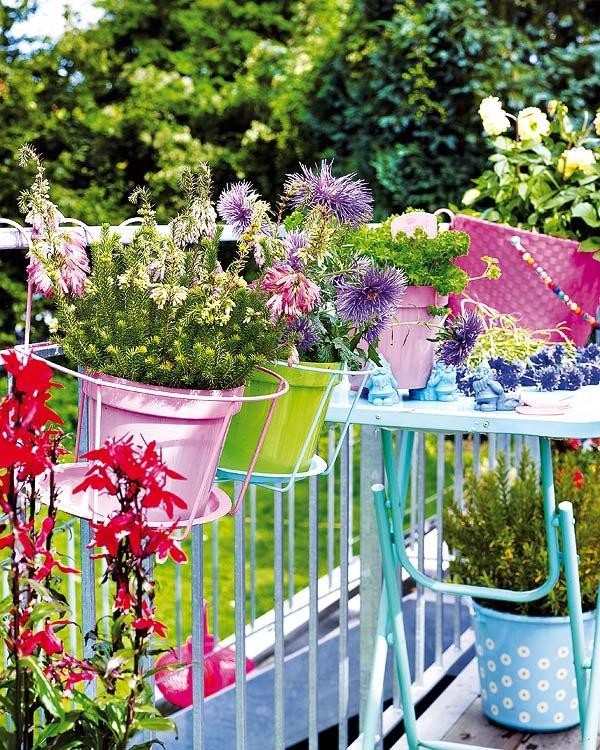 Λουλούδια σε κάθε γωνιά, υπέροχες ιδέες
