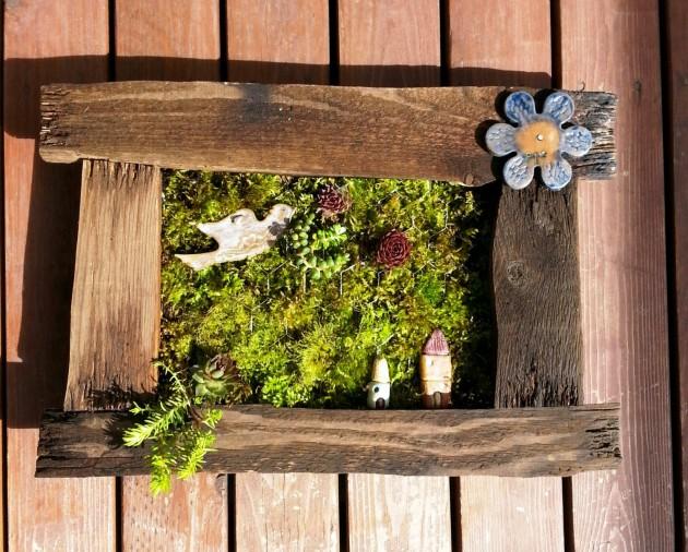 DIY Έργα Κήπου από ανακύκλωση ξύλου2