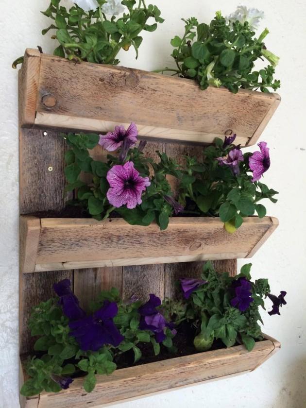 DIY Έργα Κήπου από ανακύκλωση ξύλου3
