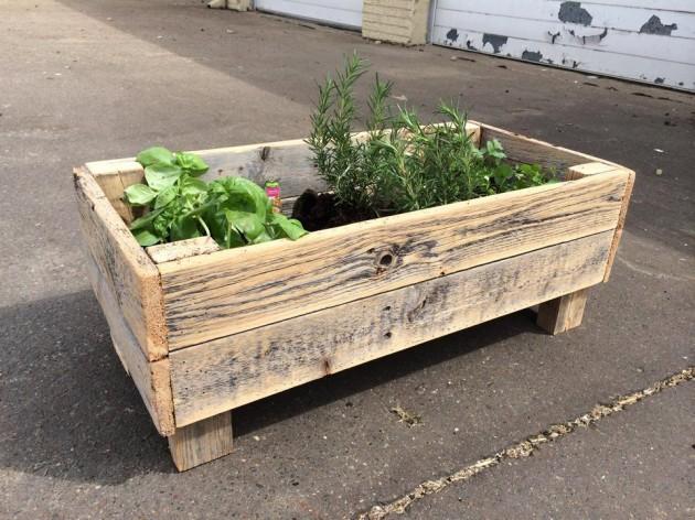 DIY Έργα Κήπου από ανακύκλωση ξύλου8