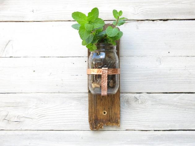 DIY Έργα Κήπου από ανακύκλωση ξύλου9