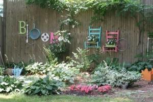 DIY WallArt Ιδέες για τον φράχτη του Κήπου σας