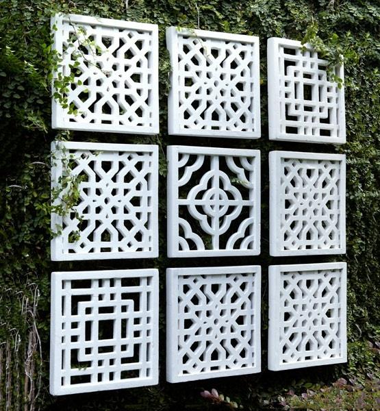 DIY WallArt Ιδέες για τον φράχτη του Κήπου σας1