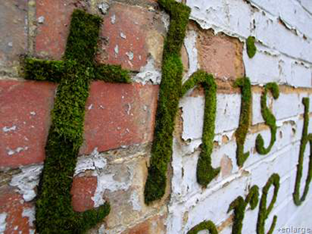 DIY WallArt Ιδέες για τον φράχτη του Κήπου σας10